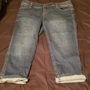 New York and company cropped Soho jeans